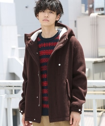 羊毛混紡外層 短版野戰大衣 OUTLET商品