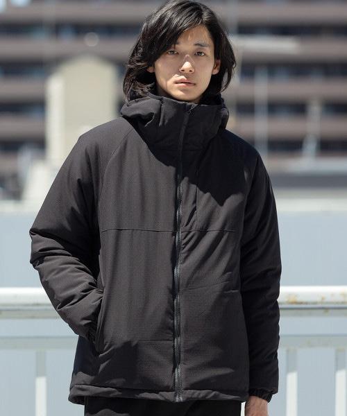 防潑水連帽登山外套 鋪棉夾克