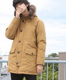 Cloud-X連帽中長版大衣