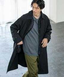 寬版 巴爾瑪肯領大衣