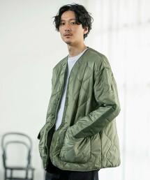 【中性款】軍裝绗縫外套