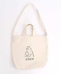 WK BEAR TOTE BAG