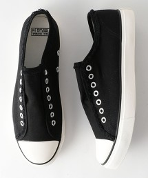 【撥水/防汚】帆布懶人鞋