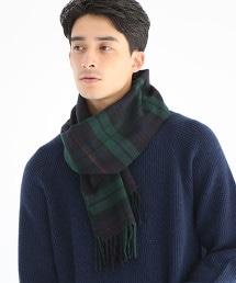 經典英倫格紋圍巾