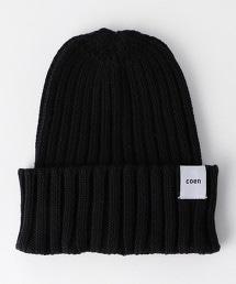純棉羅紋針織帽