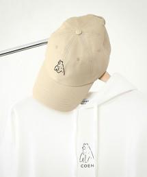 【女性也很推薦】coen熊刺繡棒球帽