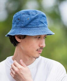 丹寧水桶帽