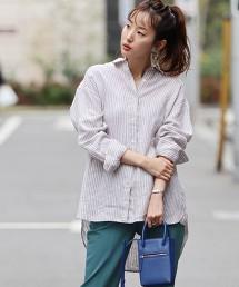 法國亞麻襯衫#