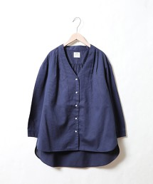 PK布7分袖襯衫