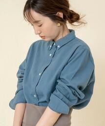 法蘭絨釦領襯衫