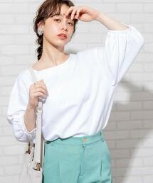 亞麻 嫘縈 蓬鬆五分袖 罩衫#