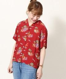 【可成套搭配】夏威夷印花襯衫 OUTLET商品