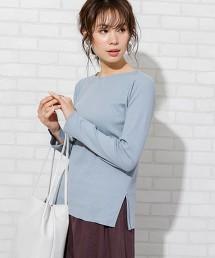 羅紋開衩船領罩衫(可成套)
