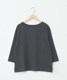 USA美國棉船型領7分袖T恤