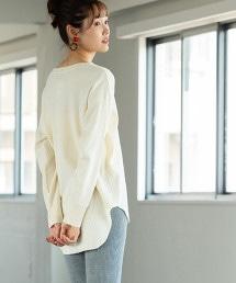 純棉 發熱素材 長袖T恤