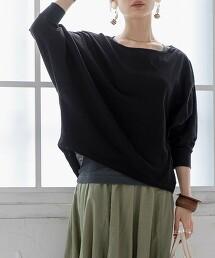 【2件成套組】棉麻 土耳其袖 T恤&羅紋抽針背心#