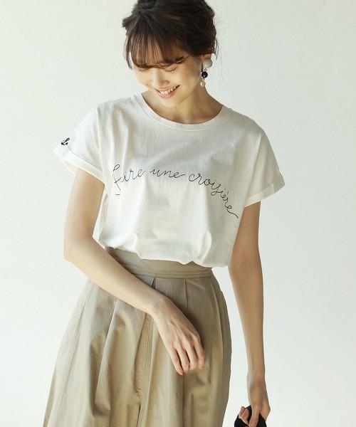 土耳其袖刺繡T恤