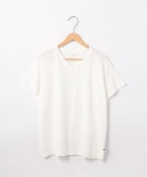 USA美國棉休閒V領輕盈T恤