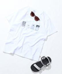 SUMMER WAVE 相片印刷T恤