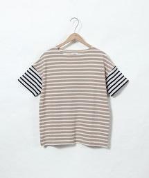鹿子織橫條紋T恤