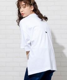 【1M】開衩寬版T恤