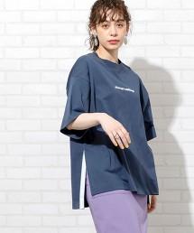 【1M】開衩 LOGO T恤