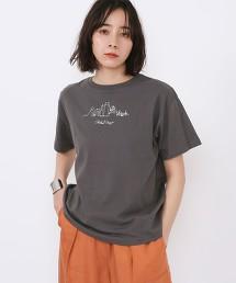 印花 文字LOGO T恤