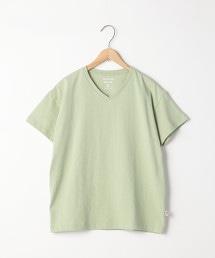 USA美國棉寬鬆V領T恤