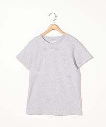 【抗污漬】圓領口袋T恤