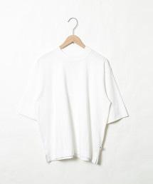 USA美國棉高領5分袖T恤