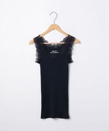 羅紋抽針 蕾絲 吊帶衫