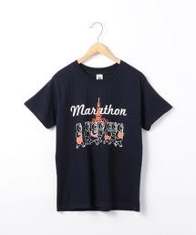 PARKIES TOKYO運動圖案印刷T恤
