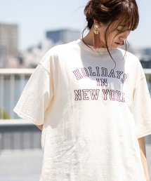 LOGO印花 寬版T恤