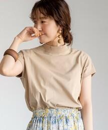 回購T・機能 高領T恤 橫條紋TEE#