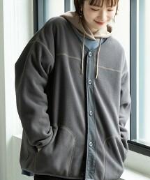 FLEECE布 對襟外套