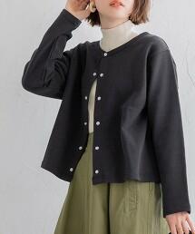 USA美國棉內裏毛短版對襟外套#
