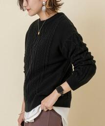 【8種花色】繩紋 針織套頭衫#