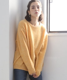 【可手洗】羔羊毛圓領毛衣