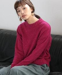 【可手洗】彩色粒結針織毛衣