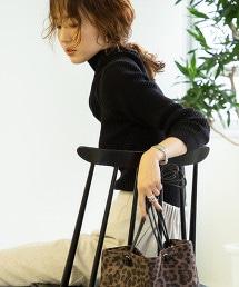 【除臭】羅紋高領針織衫