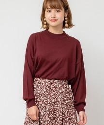羊毛混紡高密織圓領針織衫