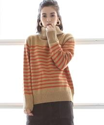 【去年的人氣款、新色上市・可手洗】羔羊毛高領針織毛衣