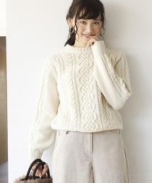 阿蘭島針織麻花毛衣( 漁夫毛衣 )