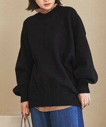 衛衣 寬版針織 套頭衫