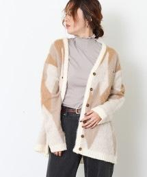 PENNEYS特別訂製長毛線V領FOX對襟外套