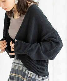短版對襟外套(蝙蝠袖)