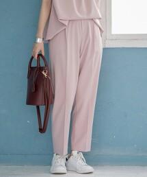 COOL&UV 機能款 錐形褲#
