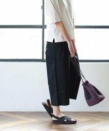 輕盈中寬版CHINO褲