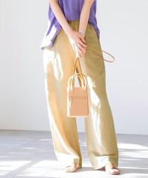亞麻縲縈寬褲#