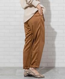 色丁布 錐形褲(輕便褲)
